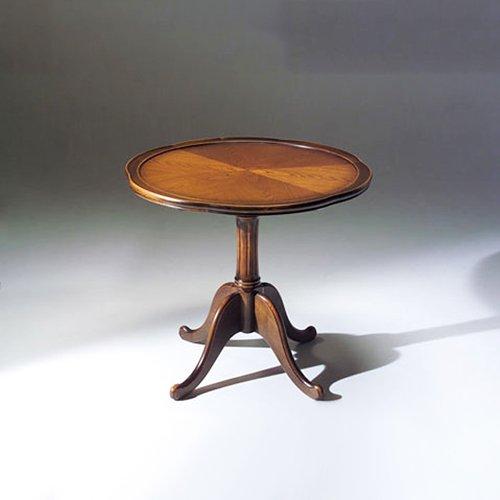 国産・高級ロココ家具【カンティーニュ】ティーテーブル アンティークorブラック(φ74.5×H67cm)