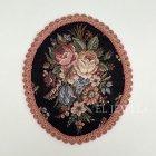 <b></b>[シェーンブルン宮殿グッズ] オーストリア製 ゴブラン織り ローズマット