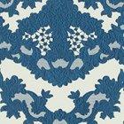 輸入壁紙<b>【フランス・Christian Lacroix】</b>macarena galuchat ブルー系 52cm巾×10.05m巻