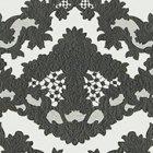 輸入壁紙<b>【フランス・Christian Lacroix】</b>macarena ブラック系 52cm巾×10.05m巻
