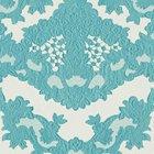 輸入壁紙<b>【フランス・Christian Lacroix】</b>macarena ブルー系 52cm巾×10.05m巻