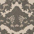 輸入壁紙<b>【フランス・Christian Lacroix】</b>macarena グレー系 52cm巾×10.05m巻