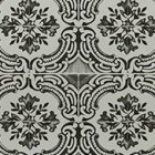 輸入壁紙<b>【フランス・Christian Lacroix】</b>Azulejos ブラック系 52cm巾×10.05m巻