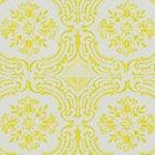 輸入壁紙<b>【フランス・Christian Lacroix】</b>Azulejos イエロー系 52cm巾×10.05m巻