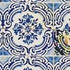 輸入壁紙<b>【フランス・Christian Lacroix】</b>Patio ブルー系 45cm巾×12m巻