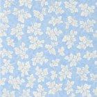 輸入壁紙<b>【イギリス・DESIGNERS GUILD】</b>meadow leaf ブルー系 52cm巾×10.05m巻