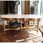 <b></b>イタリア高級家具【FRATELLI ORIGGI】大理石天板センターテーブル