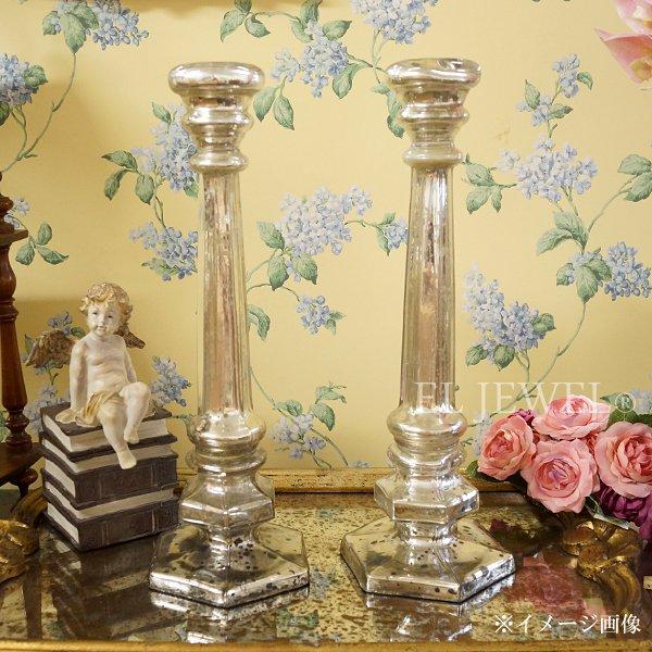 【35%OFF】【chehoma】ベルギー製 ガラス製キャンドルホルダー (H40cm)