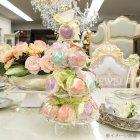 <b>【即納可!】</b>フランス製 ケーキスタンド オフホワイト