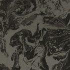 輸入壁紙<b>【フランス・Christian Lacroix】</b>Bain de Minuit ブラック系 68.5cm巾×10.05m巻