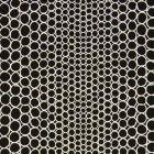 輸入壁紙<b>【フランス・Christian Lacroix】</b>Pearls ブラック系 68.5cm巾×10.05m巻