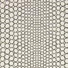 輸入壁紙<b>【フランス・Christian Lacroix】</b>Pearls ブラック×オフホワイト系 68.5cm巾×10.05m巻