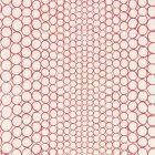輸入壁紙<b>【フランス・Christian Lacroix】</b>Pearls レッド系 68.5cm巾×10.05m巻