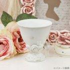 <b>【入荷未定】</b>【フラワーベース】「rose rose」フラワーベース S ホワイト(φ9×H9.5cm)