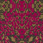 輸入壁紙<b>【フランス・Christian Lacroix】</b>Santo Sospir ゴールド×ピンク系 52cm巾×10.05m