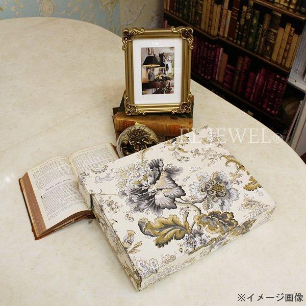【即納可!】【セール!】カルトナージュ♪ ボックス アイボリー(W33×D6.5×H25cm)