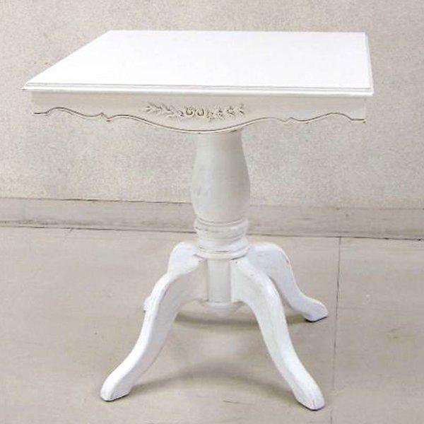 【Country Corner】  ロマンスコレクション♪ スクエアテーブル (W70×D70×H76cm)
