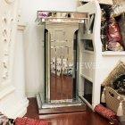 <B>【即納可!】</B>【ミラー家具】Mirrored Furniture コラム (W40×H80cm)