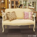 <B>【セール!】</B>【Fiore】ロココ調白家具 ソファ・ホワイト×ピンクゴールド<img class='new_mark_img2' src='https://img.shop-pro.jp/img/new/icons24.gif' style='border:none;display:inline;margin:0px;padding:0px;width:auto;' />