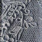 輸入ファブリック<b>【フランス・Christian Lacroix】</b>guipure ブラック 136cm巾×1m