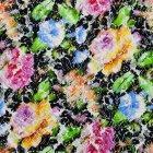 輸入ファブリック<b>【フランス・Christian Lacroix】</b>velvet dreams 142cm巾×1m