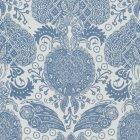 輸入ファブリック<b>【フランス・Christian Lacroix】</b>marseille ブルー 140cm巾×1m