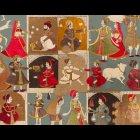輸入壁紙<b>【フランス・PIERRE FREY】</b>GINGER 136cm巾×1m
