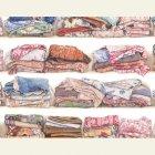 輸入壁紙<b>【フランス・PIERRE FREY】</b>L'ARMOIRE DE MARGUERITE 140cm巾×1m