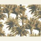 輸入壁紙<b>【フランス・PIERRE FREY】</b>ジャングル柄 MAURITIUS ブラウン系 140cm巾×1m