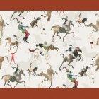 輸入壁紙<b>【フランス・PIERRE FREY】</b>JOUR DE FETE 140cm巾×1m