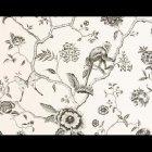 輸入壁紙<b>【フランス・PIERRE FREY】</b>ジャングル柄 JARDIN DE PARADAIS アイボリー系 68.5cm巾×10.05m巻