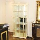 <b>【即納可!】</b>イタリア高級家具【TURRI−トゥーリ】1ドアガラスキャビネット(W91×D44×H206cm)