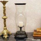 <b>【即納可!】【一点物!】【BAROQUE】</b>オランダ製 ガラスシェード・キャンドルホルダー Lサイズ