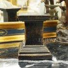 <b>【即納可!】</b>フランス製 アンティーク調 コラム ダークブラウン Sサイズ(H15.8cm)
