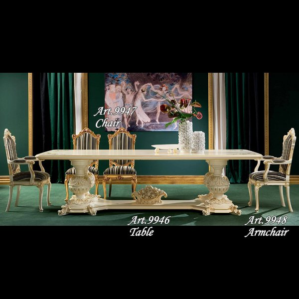 イタリア高級輸入家具 【SILIK−シリック】 DEMETRA シリーズ テーブルのみ