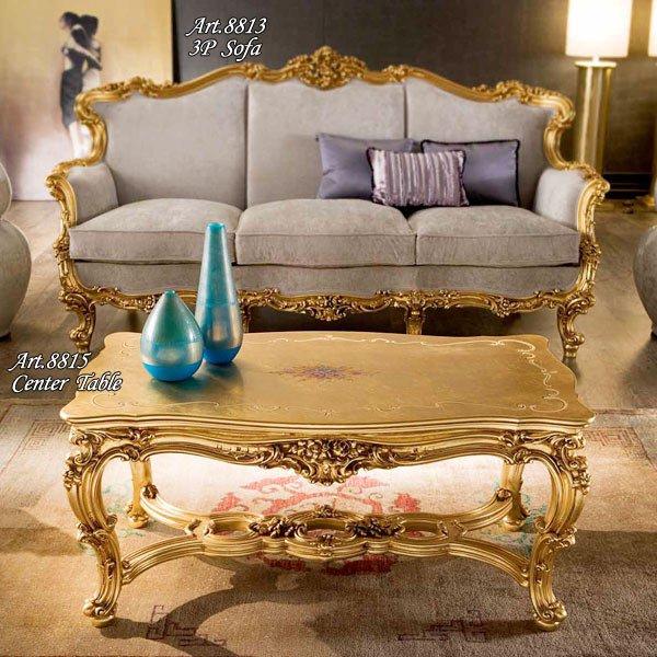 イタリア高級輸入家具 【SILIK−シリック】 OMERO シリーズ センターテーブルのみ