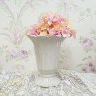 <b>【入荷未定】</b>【フラワーベース】「Le Petale」花器 ライトグレー Sサイズ(φ11.5×H14cm)