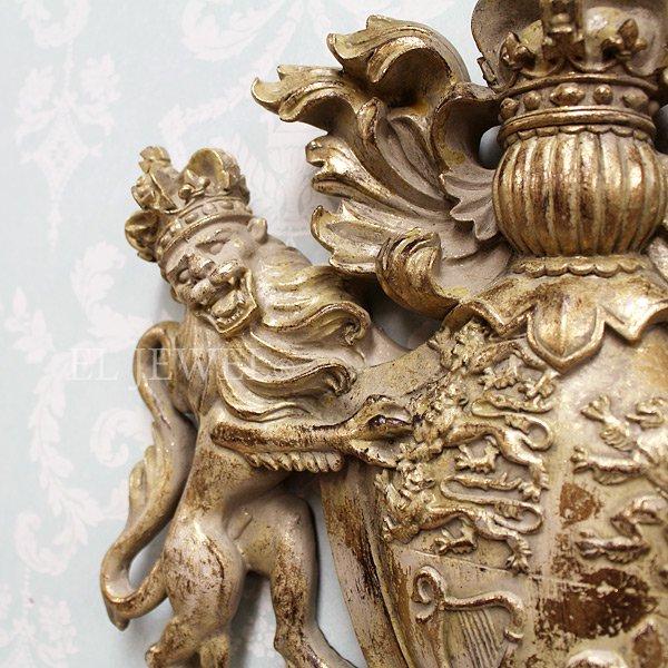 【即納可!】【Dutch Style-オランダ】ウォールデコレーション・紋章(H35×W38×D6cm)