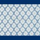 輸入壁紙<b>【フランス・BRAQUENIE】</b>LEANDRE ブルー 52cm巾×10.05m巻