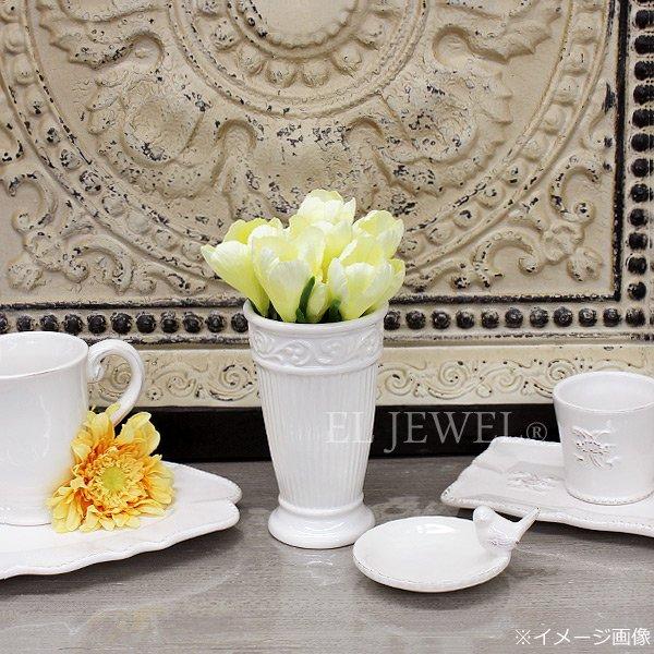 【即納可!】【Art silk flower】「クロッカス」ソフトイエロー 1本(クロッカス×2、リーフ)(L7cm)