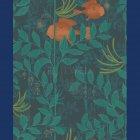 ≪海外取り寄せ品≫輸入壁紙<b>【イギリス・Cole&Son】</b>NAUTILUS レッド 52cm巾×10m巻