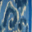≪国内在庫品≫輸入ファブリック<b>【イギリス・DESIGNERS GUILD】</b>madhuri Sungadi  indigo 藍色 137cm巾×1m巻