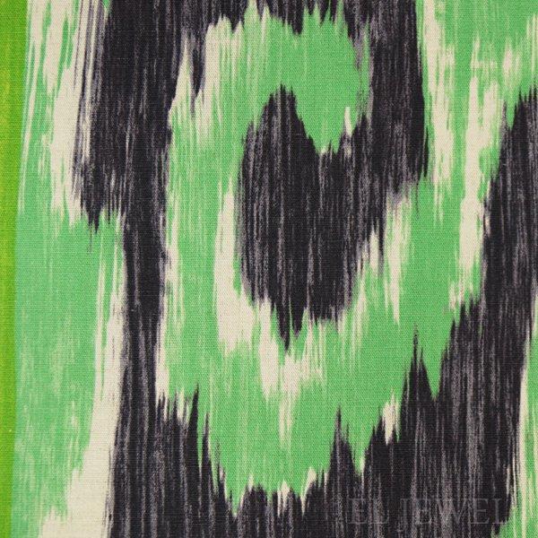 ≪国内在庫品≫輸入ファブリック【イギリス・DESIGNERS GUILD】madhuri Sungadi Jade 翡翠 137cm巾×1m巻