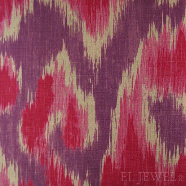 ≪国内在庫品≫輸入ファブリック【イギリス・DESIGNERS GUILD】madhuri Sungadi  Magenta 赤紫 137cm巾×1…