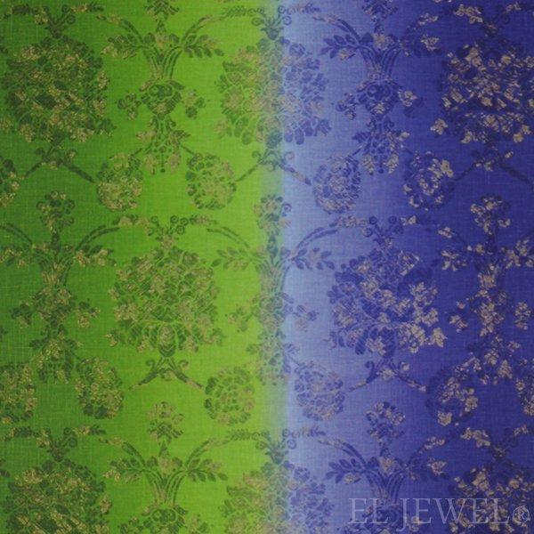 ≪国内在庫品≫輸入ファブリック【イギリス・DESIGNERS GUILD】madhuri Sukumala  Cobalt 群青 137cm巾×1…
