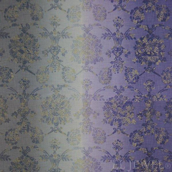 ≪国内在庫品≫輸入ファブリック【イギリス・DESIGNERS GUILD】madhuri Sukumala  Thistle 紫 137cm巾×1…