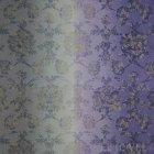 ≪国内在庫品≫輸入ファブリック<b>【イギリス・DESIGNERS GUILD】</b>madhuri Sukumala  Thistle 紫 137cm巾×1m巻