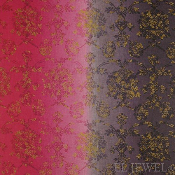 ≪国内在庫品≫輸入ファブリック【イギリス・DESIGNERS GUILD】madhuri Sukumala Fuchsia 赤紫 137cm巾×1…