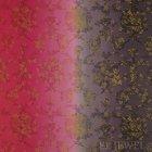 ≪国内在庫品≫輸入ファブリック<b>【イギリス・DESIGNERS GUILD】</b>madhuri Sukumala Fuchsia 赤紫 137cm巾×1m巻