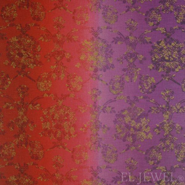 ≪国内在庫品≫輸入ファブリック【イギリス・DESIGNERS GUILD】madhuri Sukumala Magenta 赤紫 137cm巾×1…